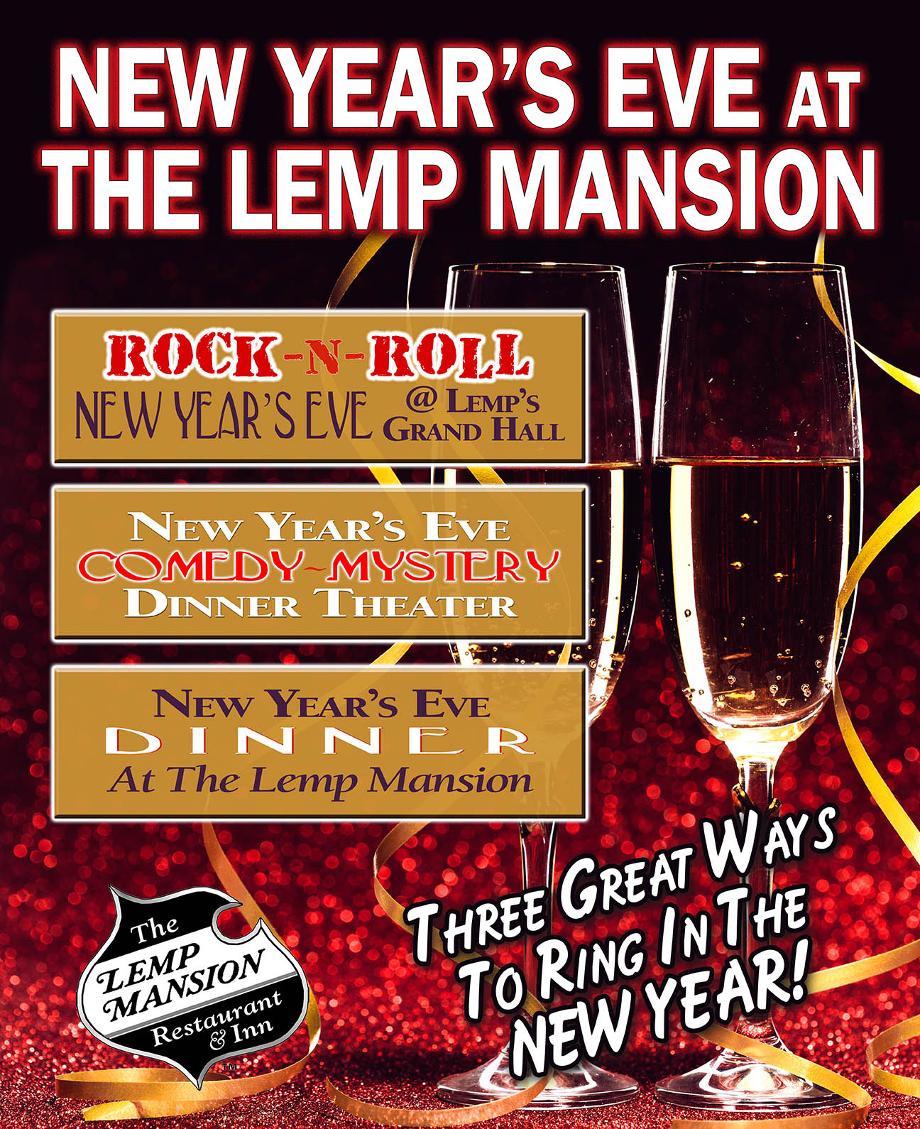 LEMP MANSION NEW YEAR'S EVE